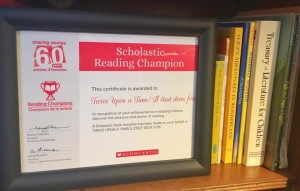 Reading Champions Certificate